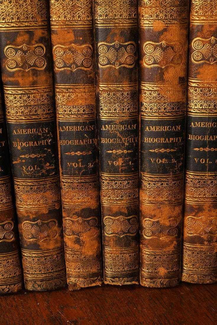 BOOKS: (9) Vols 1820 Signers of the Declaration - 3
