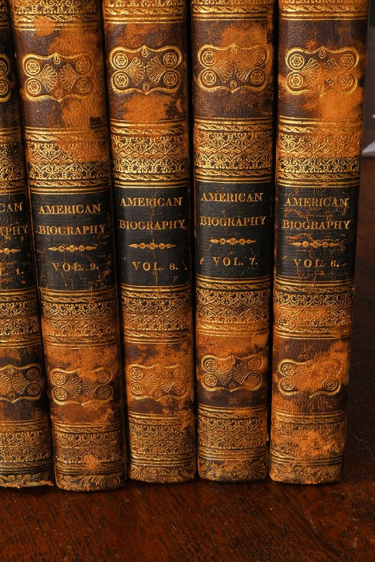 BOOKS: (9) Vols 1820 Signers of the Declaration - 4