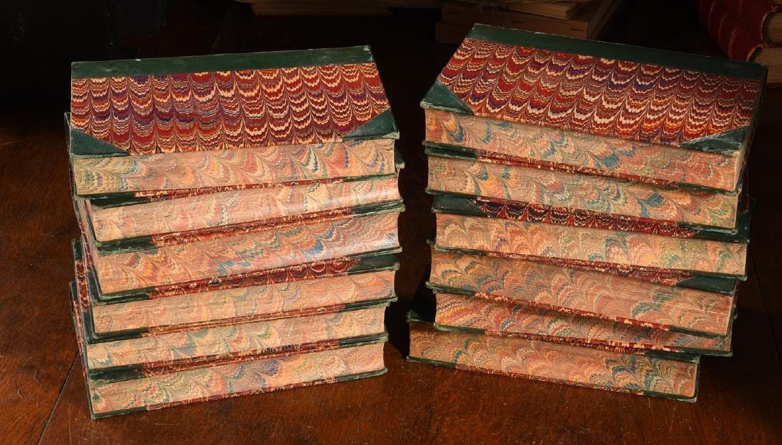 BOOKS: (12) Vols 1873 Prescott Works Fine Binding - 10