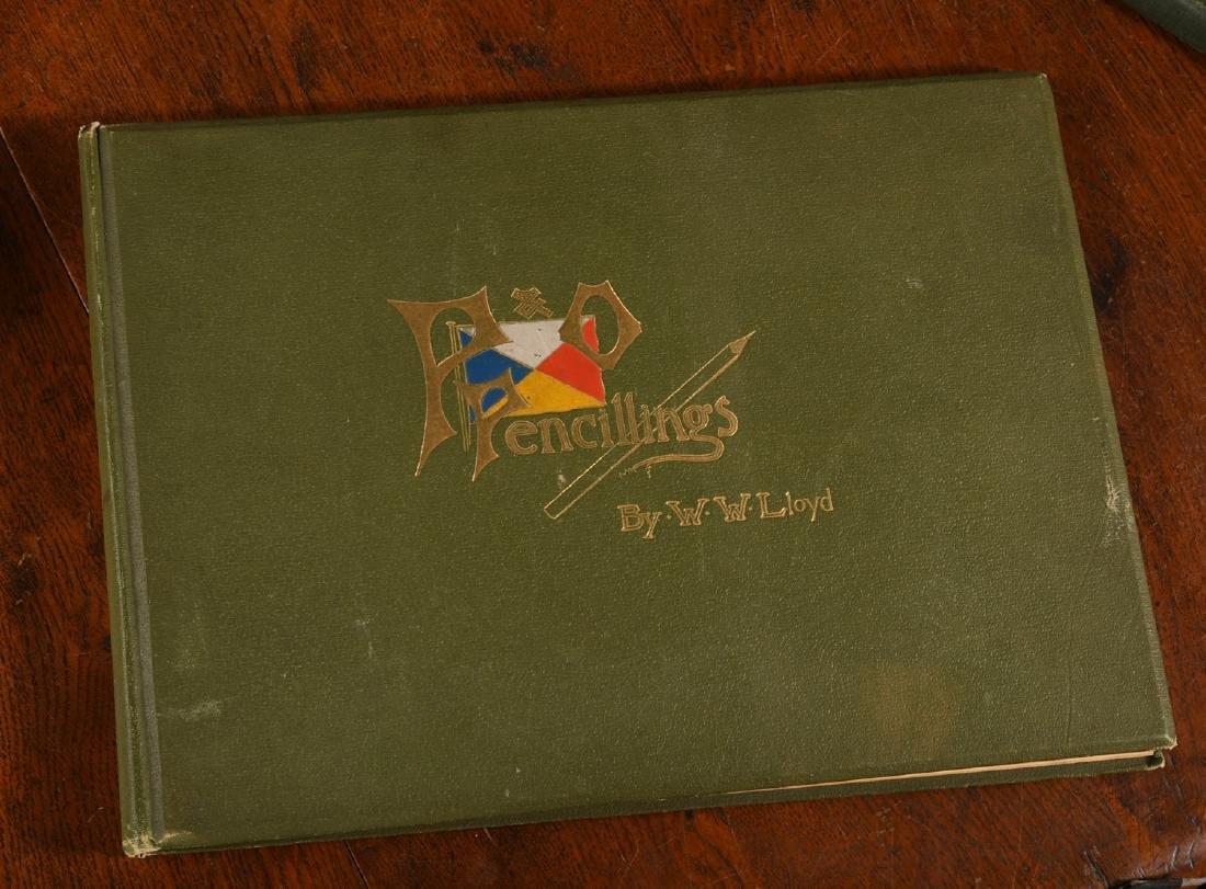BOOKS: Steamships P&O Pencillings 1891 W.W. Lloyd