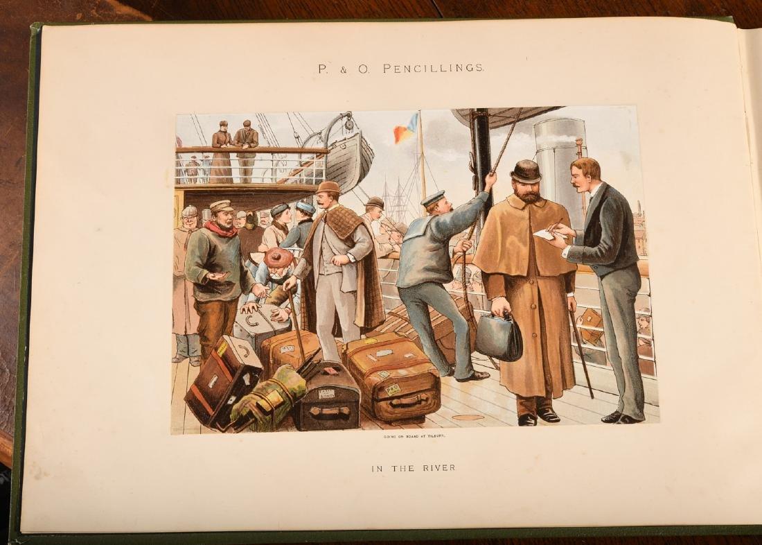 BOOKS: Steamships P&O Pencillings 1891 W.W. Lloyd - 3
