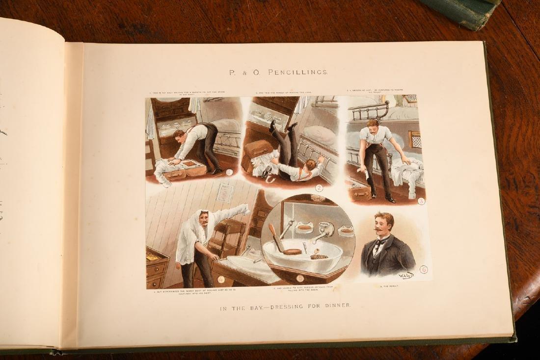 BOOKS: Steamships P&O Pencillings 1891 W.W. Lloyd - 4