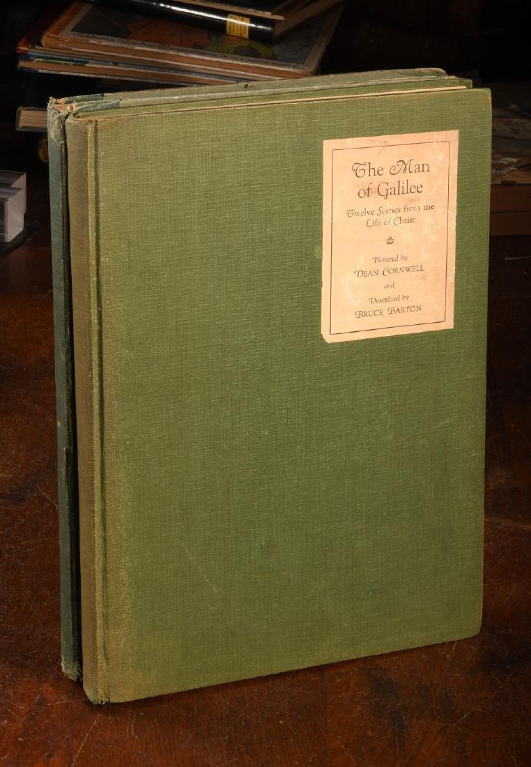 BOOKS: (2) Vols SIGNED Dean Cornwell 1926 1928