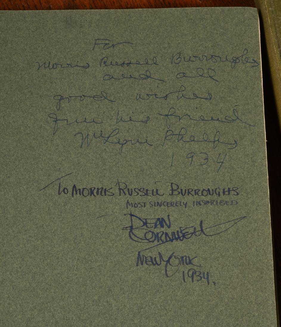 BOOKS: (2) Vols SIGNED Dean Cornwell 1926 1928 - 5