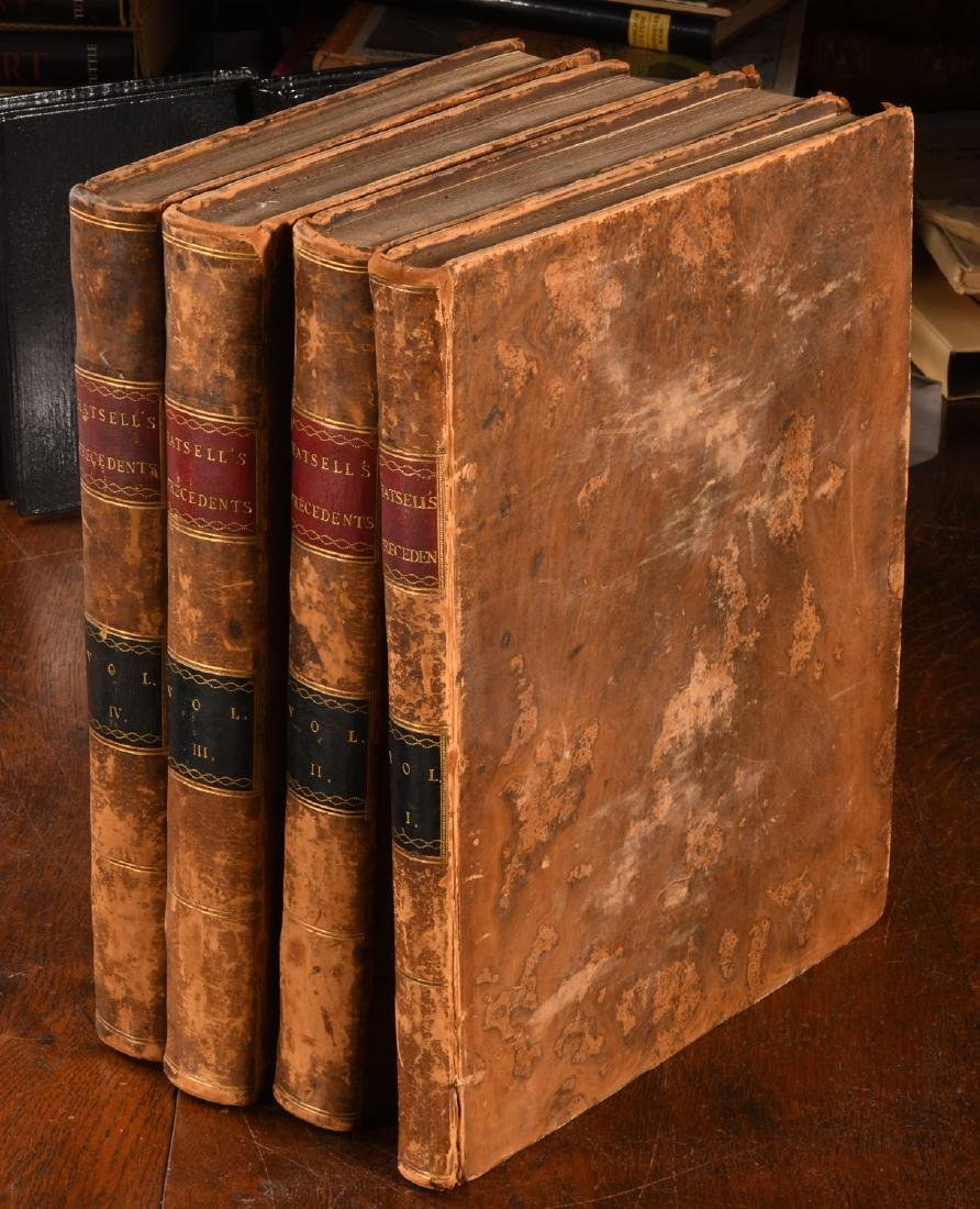BOOKS: (4) Vols 1796 Precedents House of Commons
