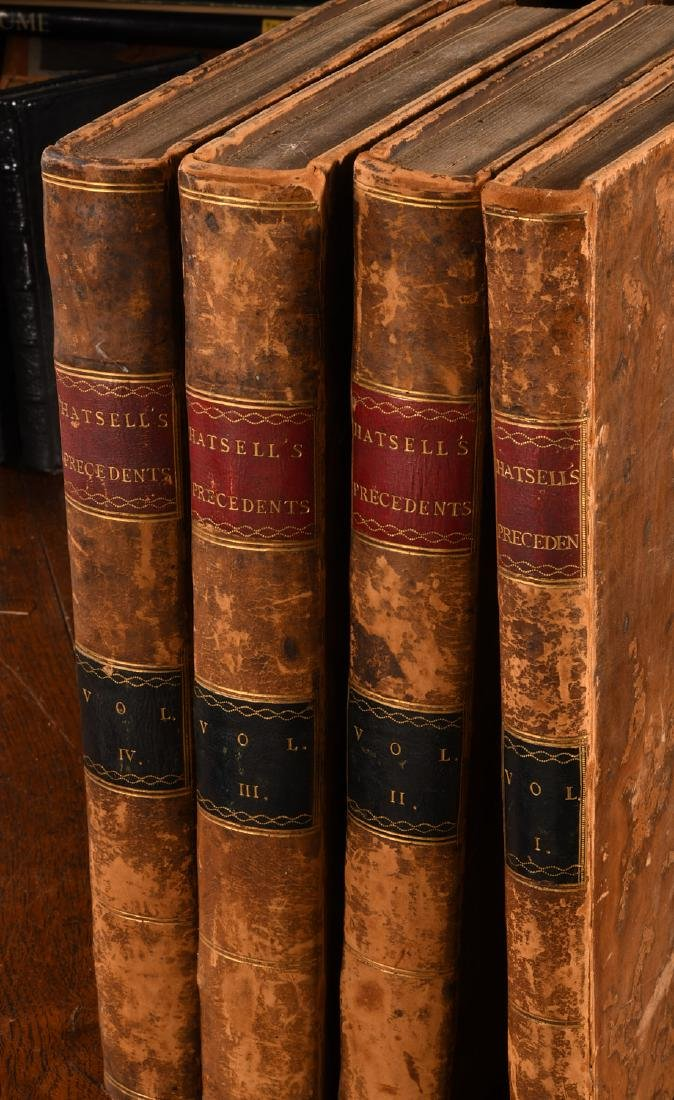 BOOKS: (4) Vols 1796 Precedents House of Commons - 2