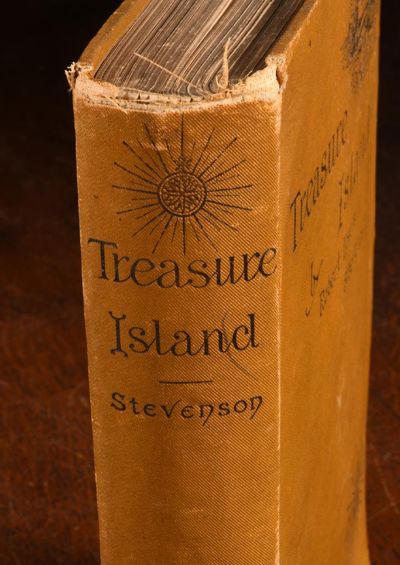 BOOKS: Stevenson 1884 Treasure Island 1st Am Ed - 2