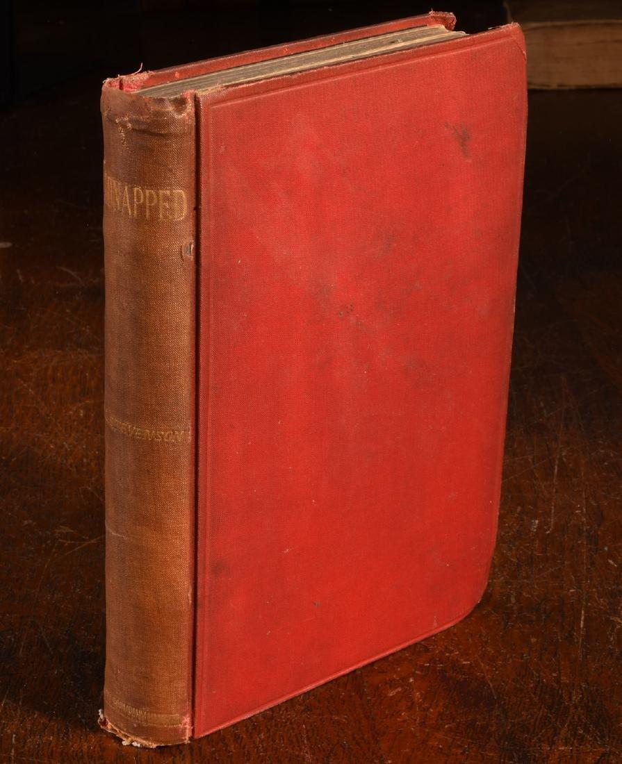 BOOKS: Stevenson 1886 Kidnapped 1st Ed Cassell