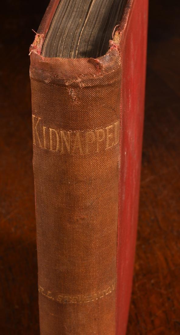 BOOKS: Stevenson 1886 Kidnapped 1st Ed Cassell - 2