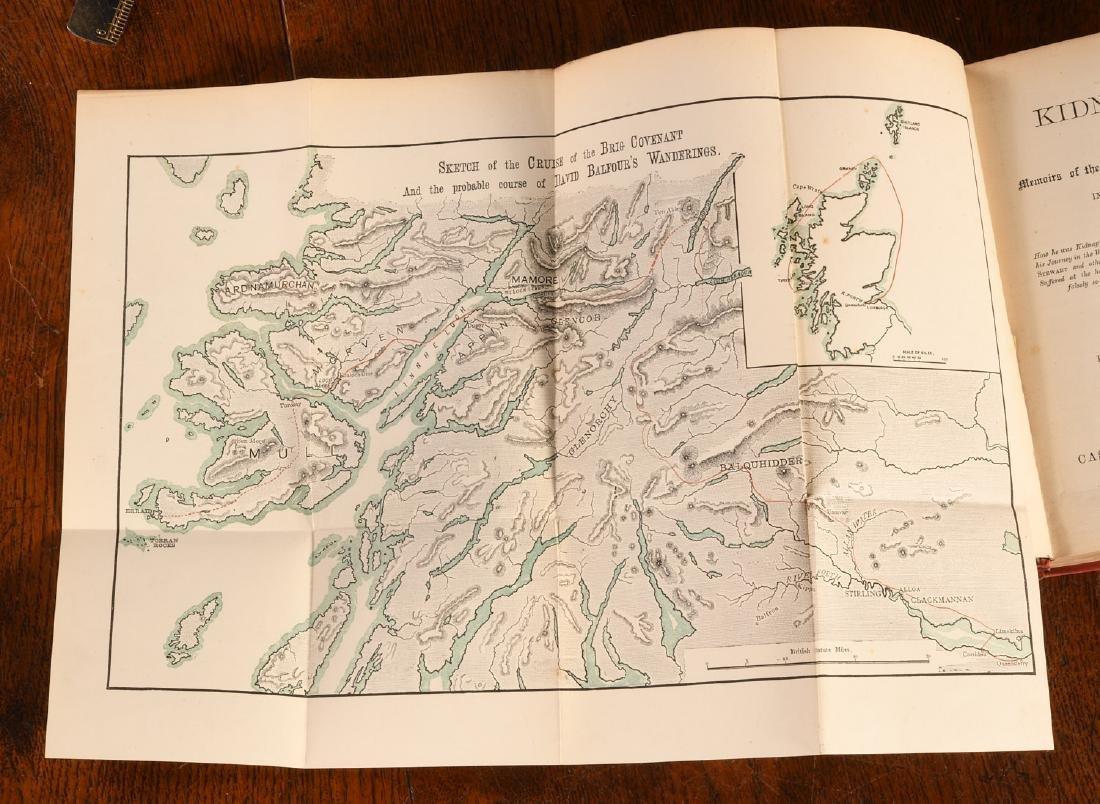 BOOKS: Stevenson 1886 Kidnapped 1st Ed Cassell - 4