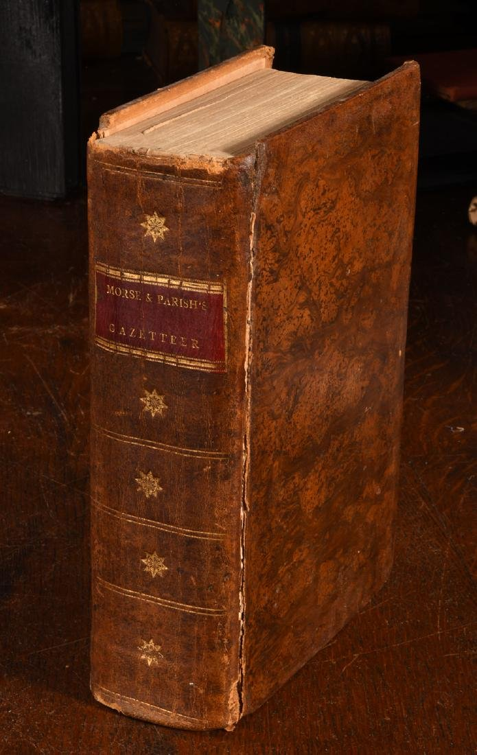 BOOKS: Morse 1802 Gazetteer COMPLETE 18 Maps