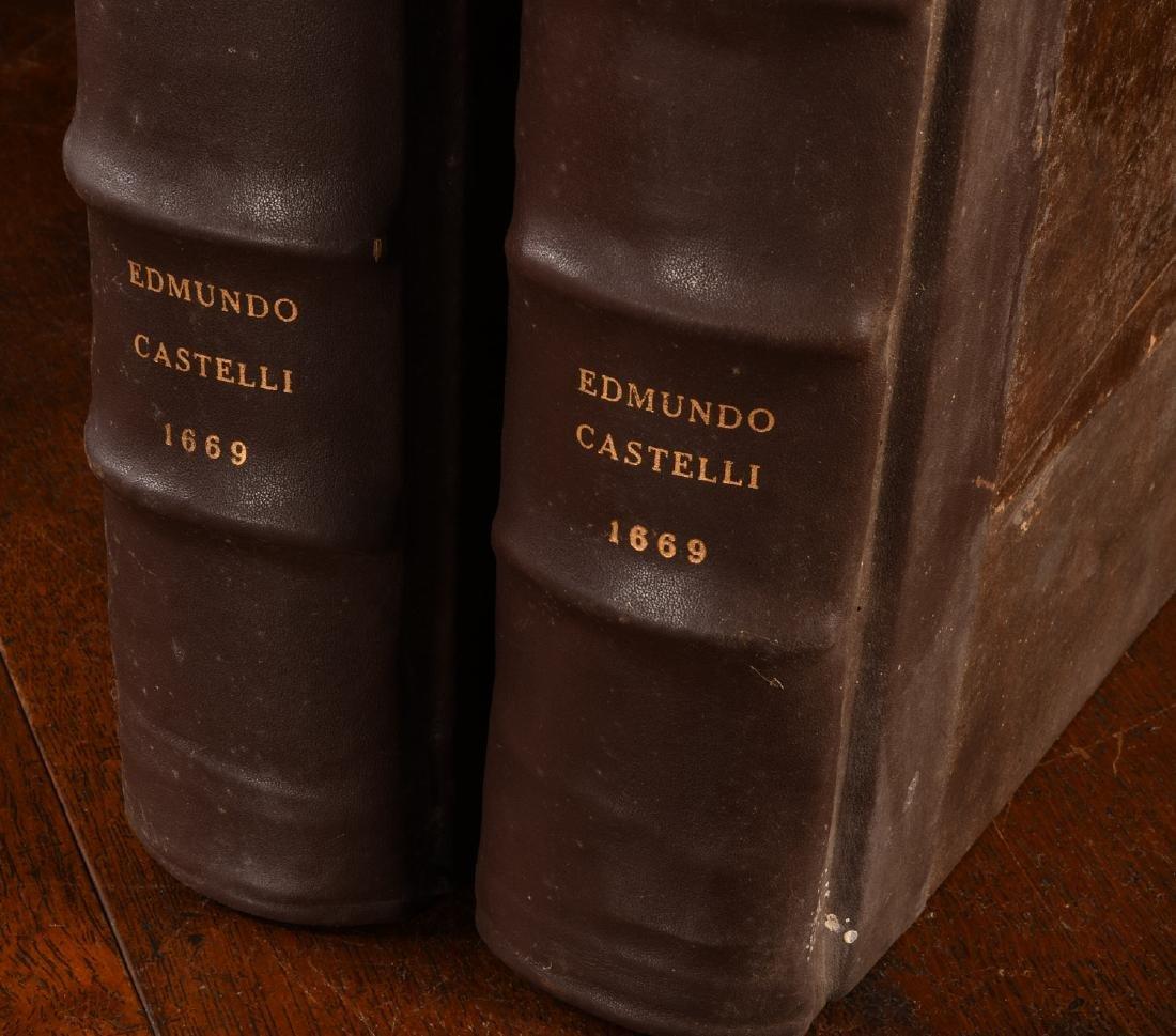 BOOKS: (2) Vols Lexicon Heptaglotton 1669 Roycroft - 4