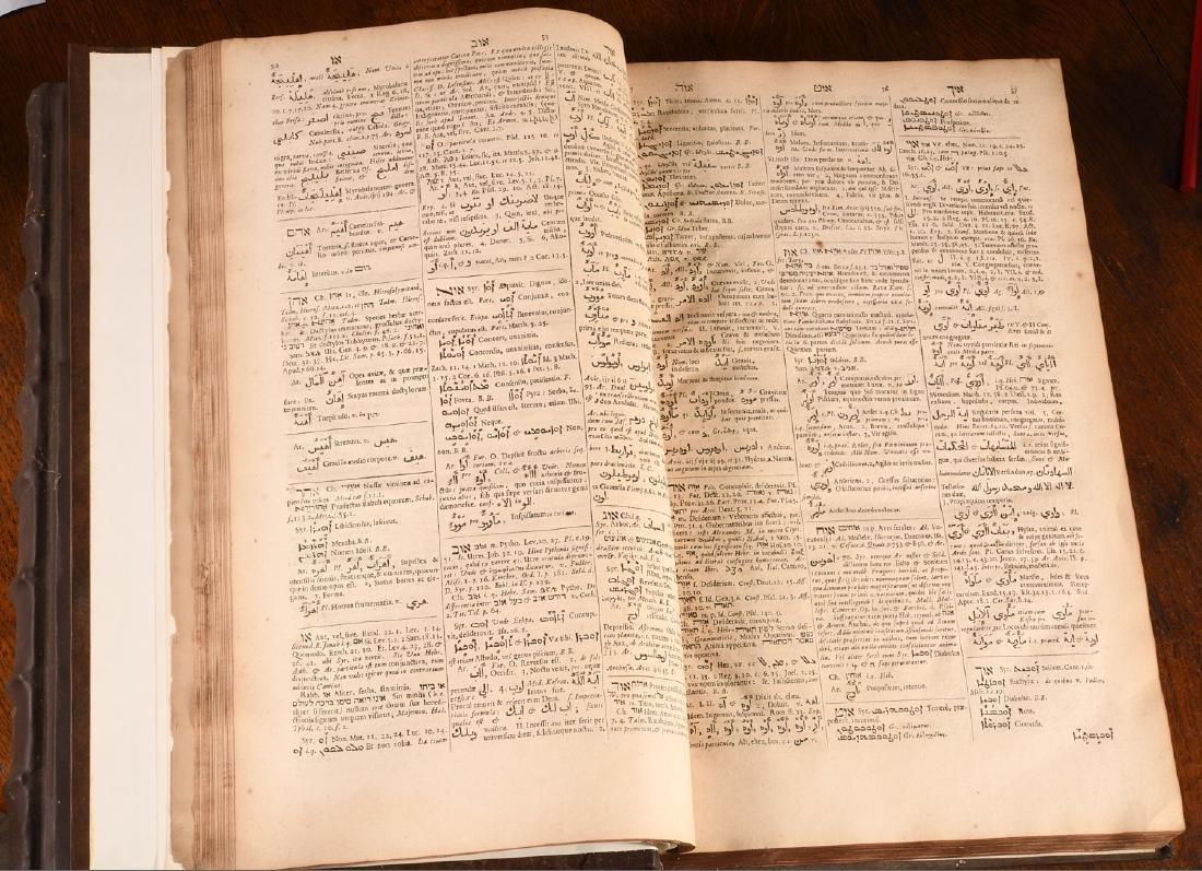 BOOKS: (2) Vols Lexicon Heptaglotton 1669 Roycroft - 7