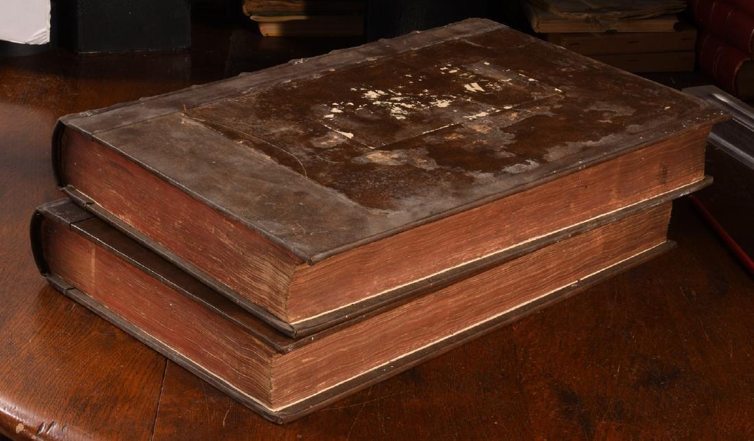 BOOKS: (2) Vols Lexicon Heptaglotton 1669 Roycroft - 9