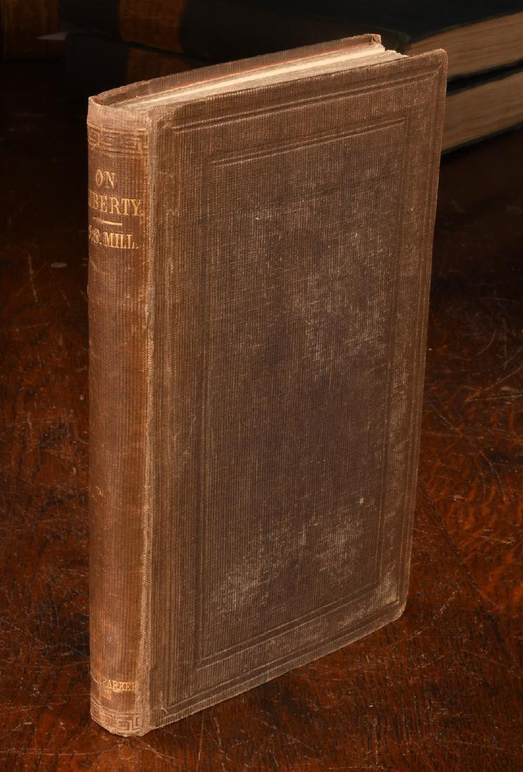 BOOKS: John Stuart Mill 1859 On Liberty 1st Ed