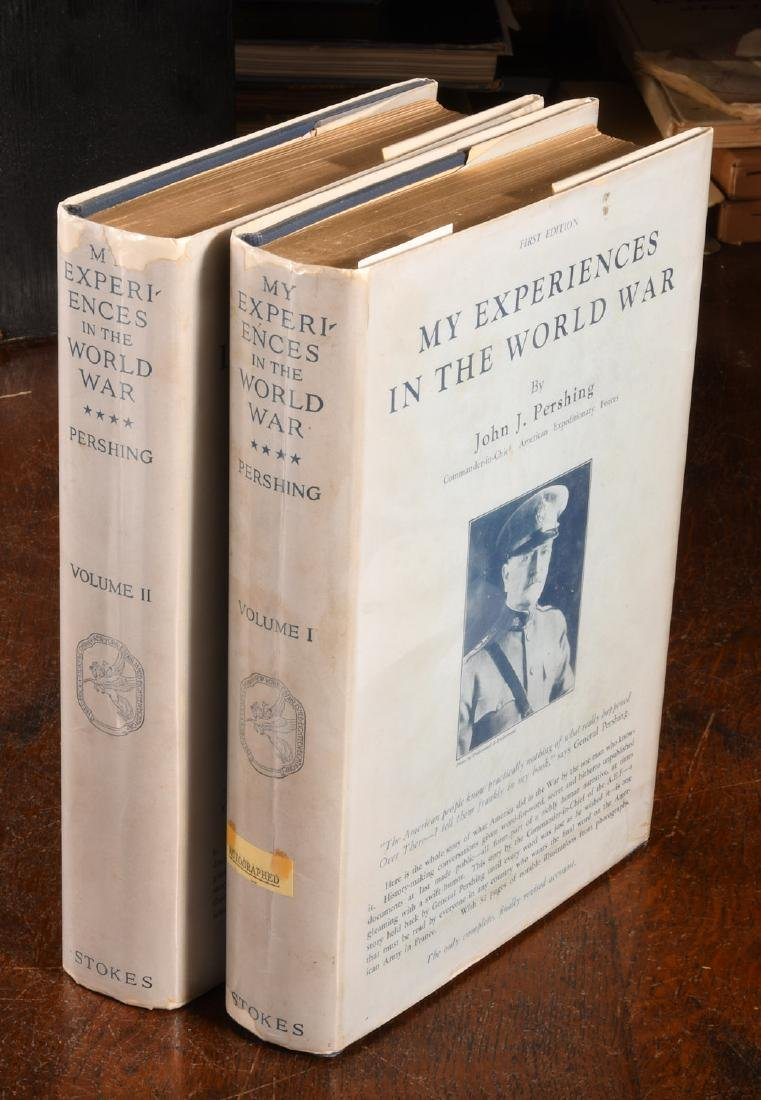 BOOKS: Pershing INSCRIBED Experiences in World War