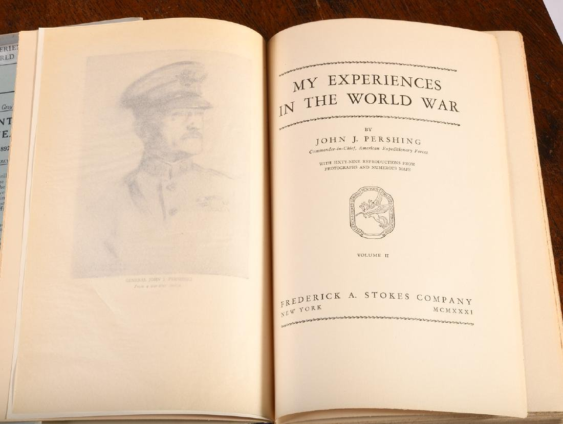 BOOKS: Pershing INSCRIBED Experiences in World War - 5