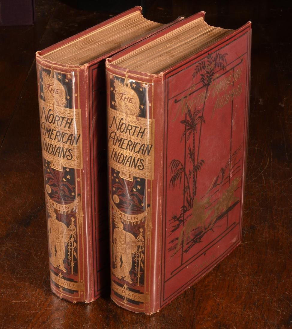 BOOKS: Catlin 1926 N. A. Indians 320 Color Plates