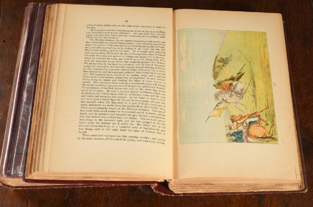 BOOKS: Catlin 1926 N. A. Indians 320 Color Plates - 6