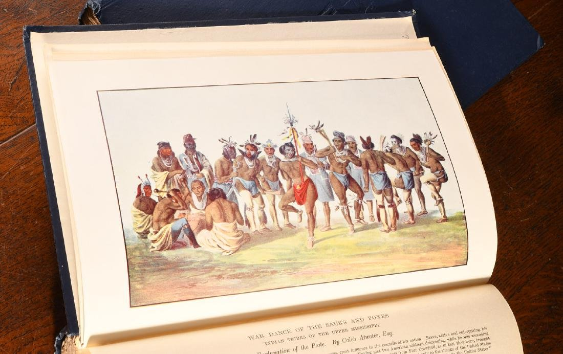 BOOKS: McKenny 1933 Indian Tribes 96 Color Plates - 3