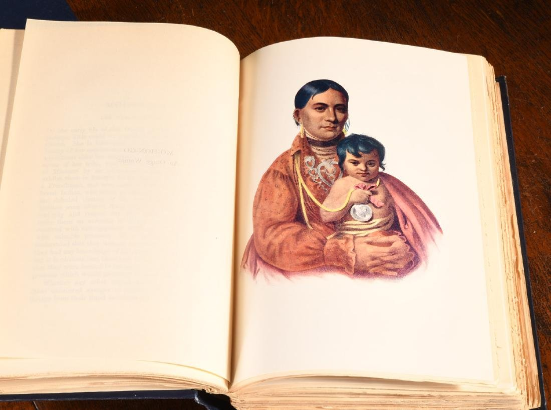 BOOKS: McKenny 1933 Indian Tribes 96 Color Plates - 4