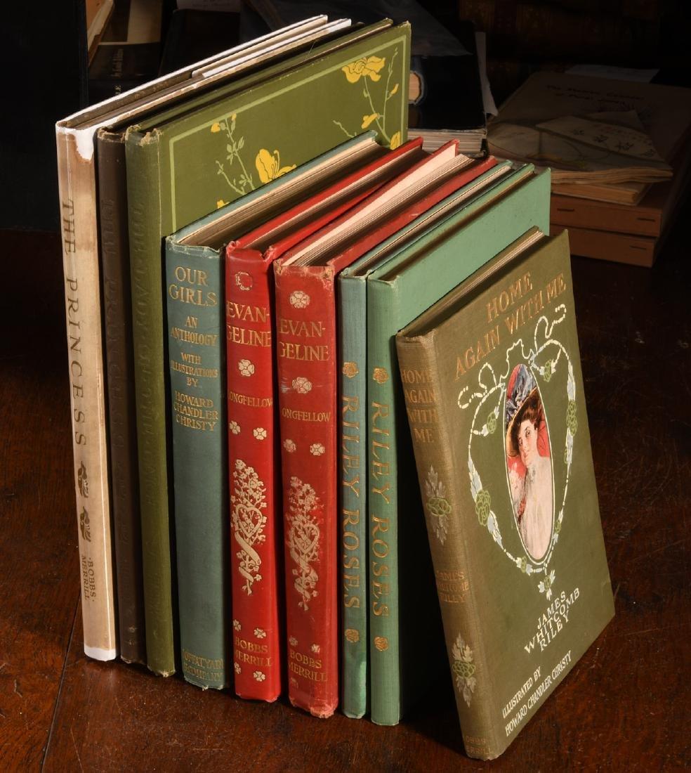 BOOKS: (9) Vols Howard Chandler Christy 1905-11