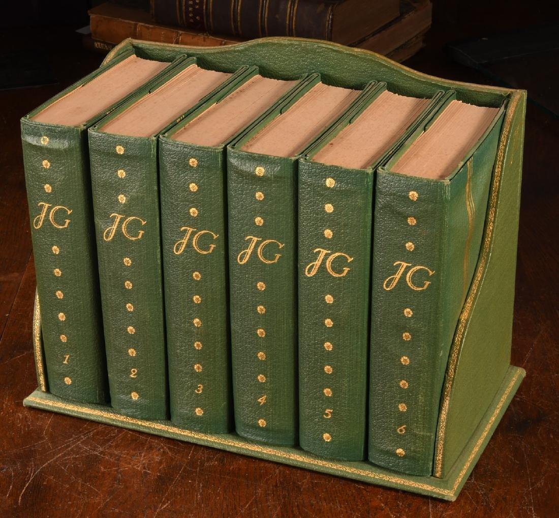 BOOKS: (6) Vols SIGNED Ltd Galsworthy Set 1929
