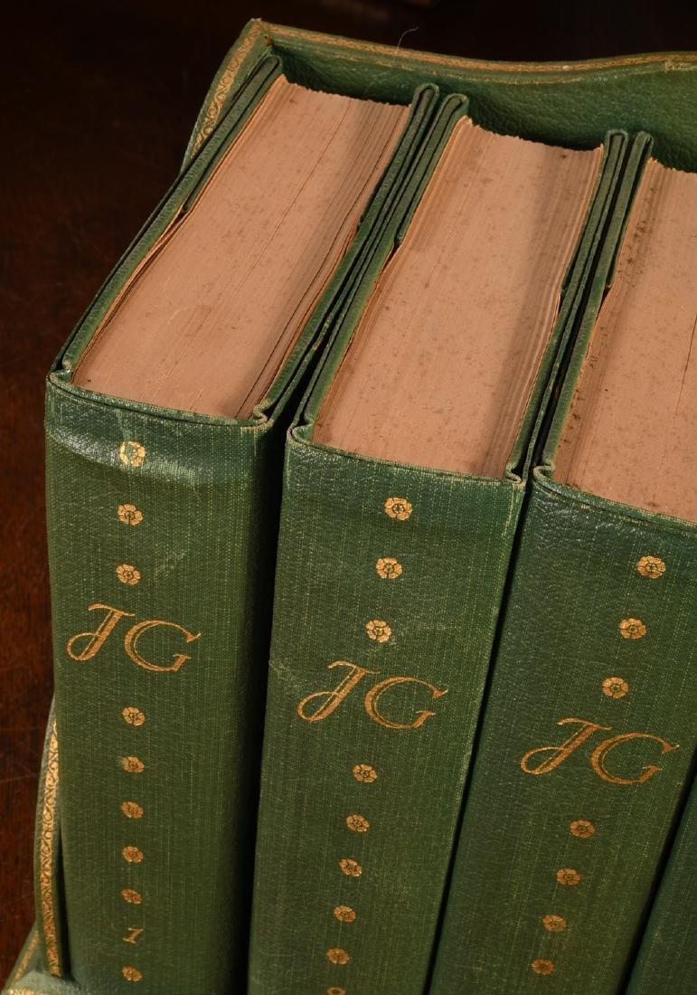 BOOKS: (6) Vols SIGNED Ltd Galsworthy Set 1929 - 2