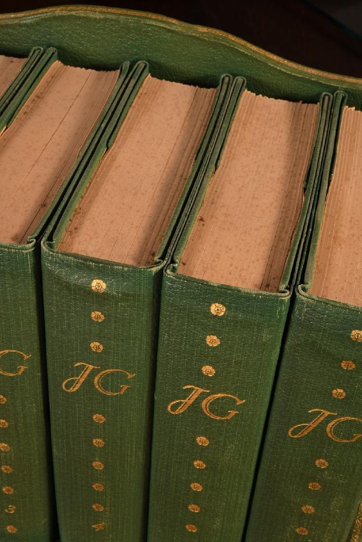 BOOKS: (6) Vols SIGNED Ltd Galsworthy Set 1929 - 3