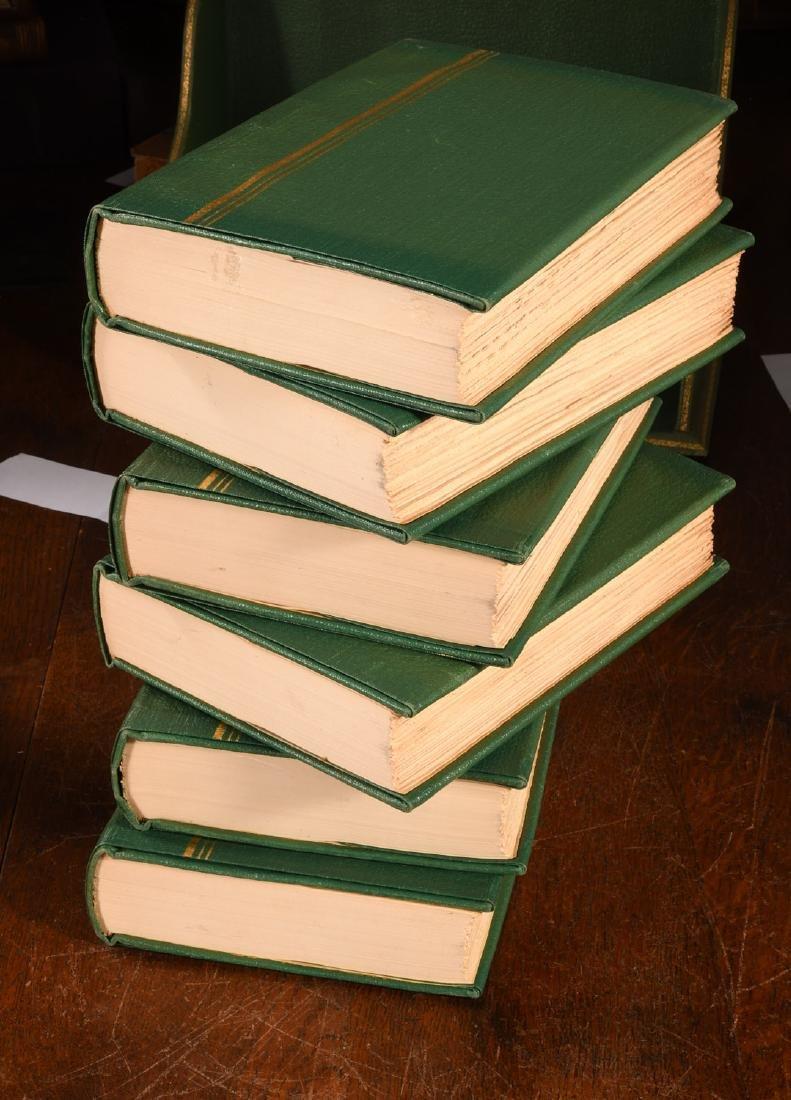 BOOKS: (6) Vols SIGNED Ltd Galsworthy Set 1929 - 7