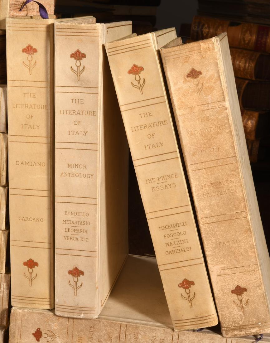 BOOKS: (16) Vols Ltd Ed 1906 Literature of Italy - 5