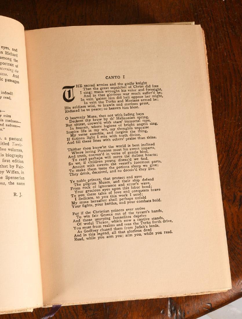 BOOKS: (16) Vols Ltd Ed 1906 Literature of Italy - 9