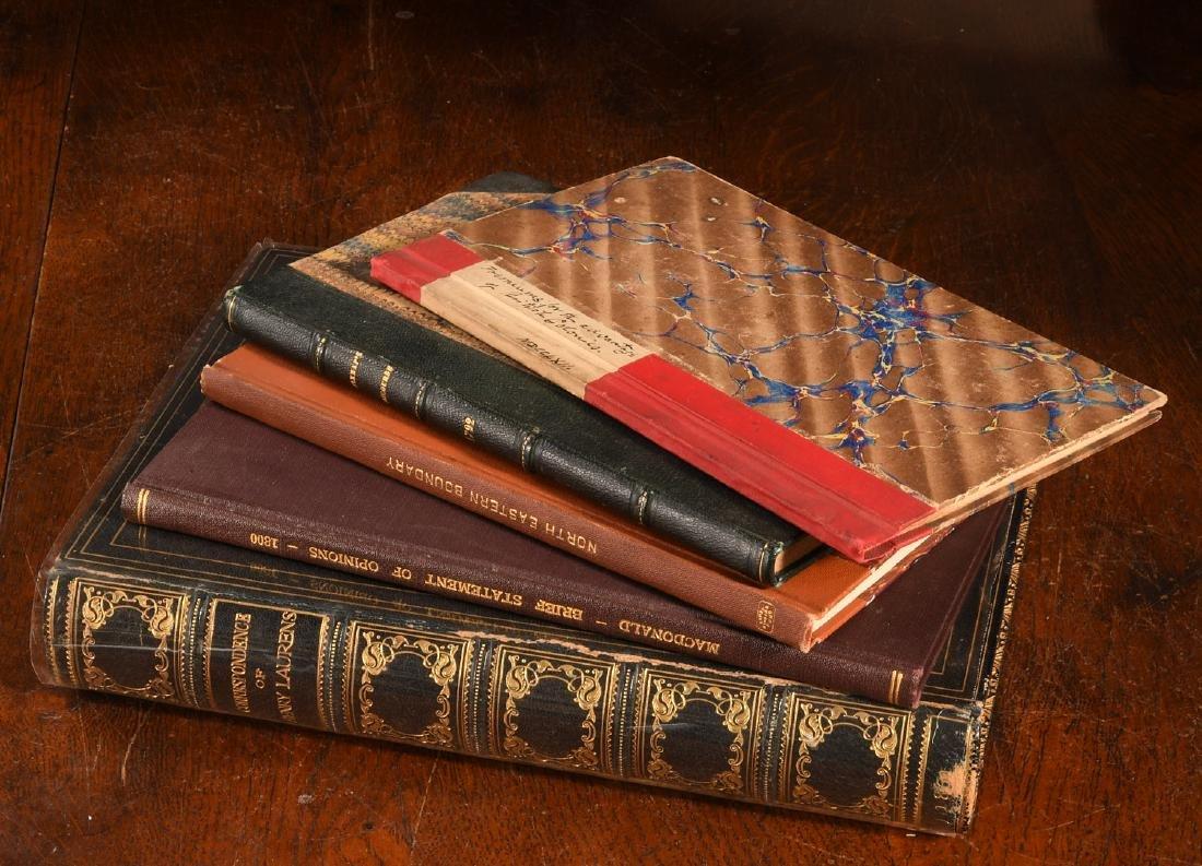 BOOKS: (5) Vols American British History 1762-1861