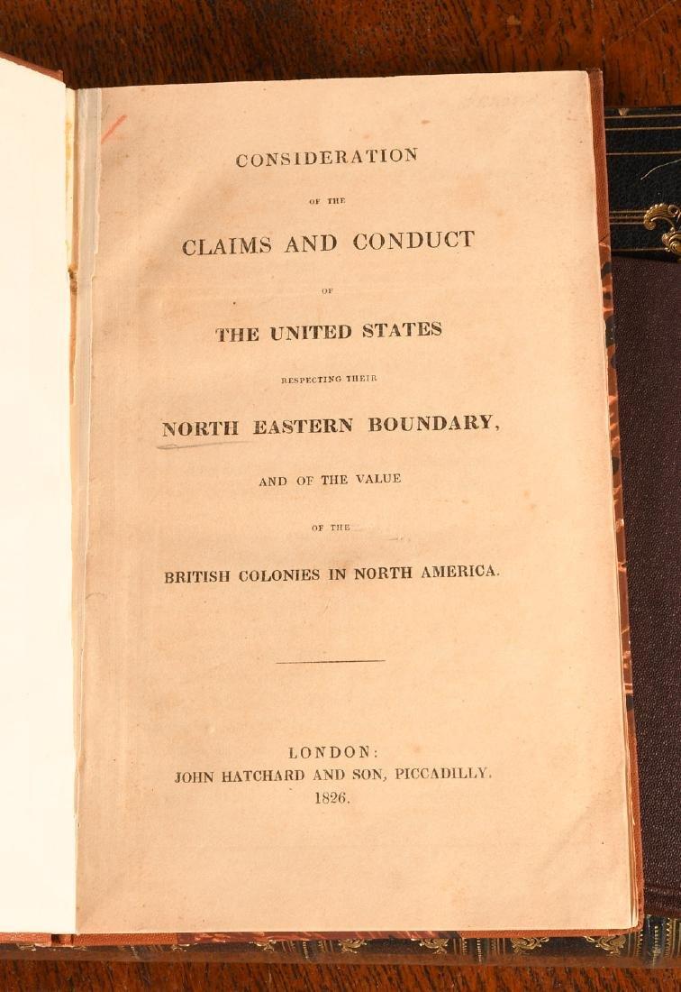 BOOKS: (5) Vols American British History 1762-1861 - 5