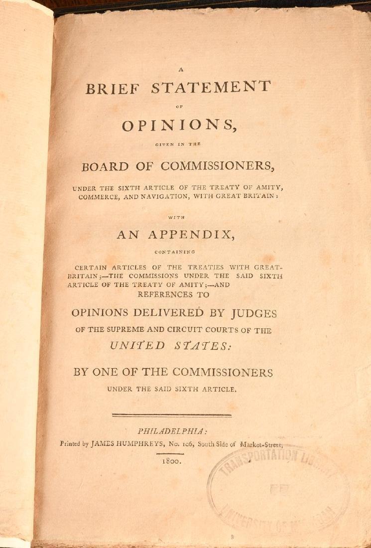 BOOKS: (5) Vols American British History 1762-1861 - 6