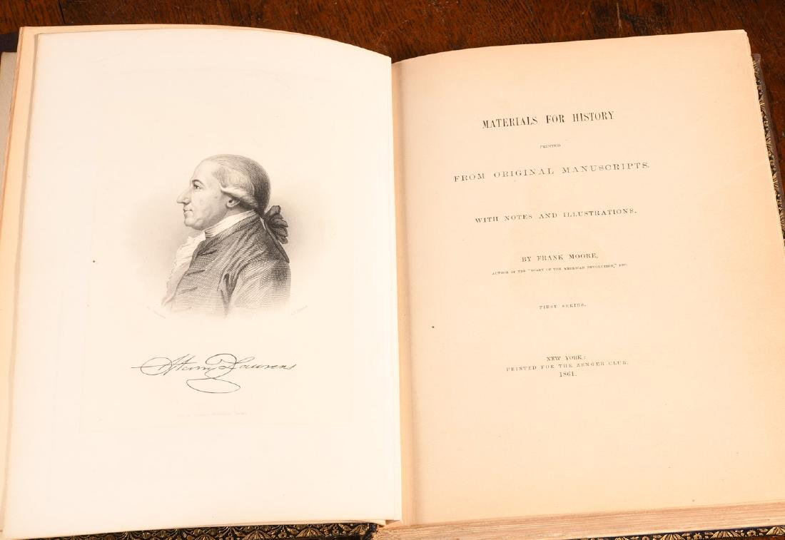 BOOKS: (5) Vols American British History 1762-1861 - 7