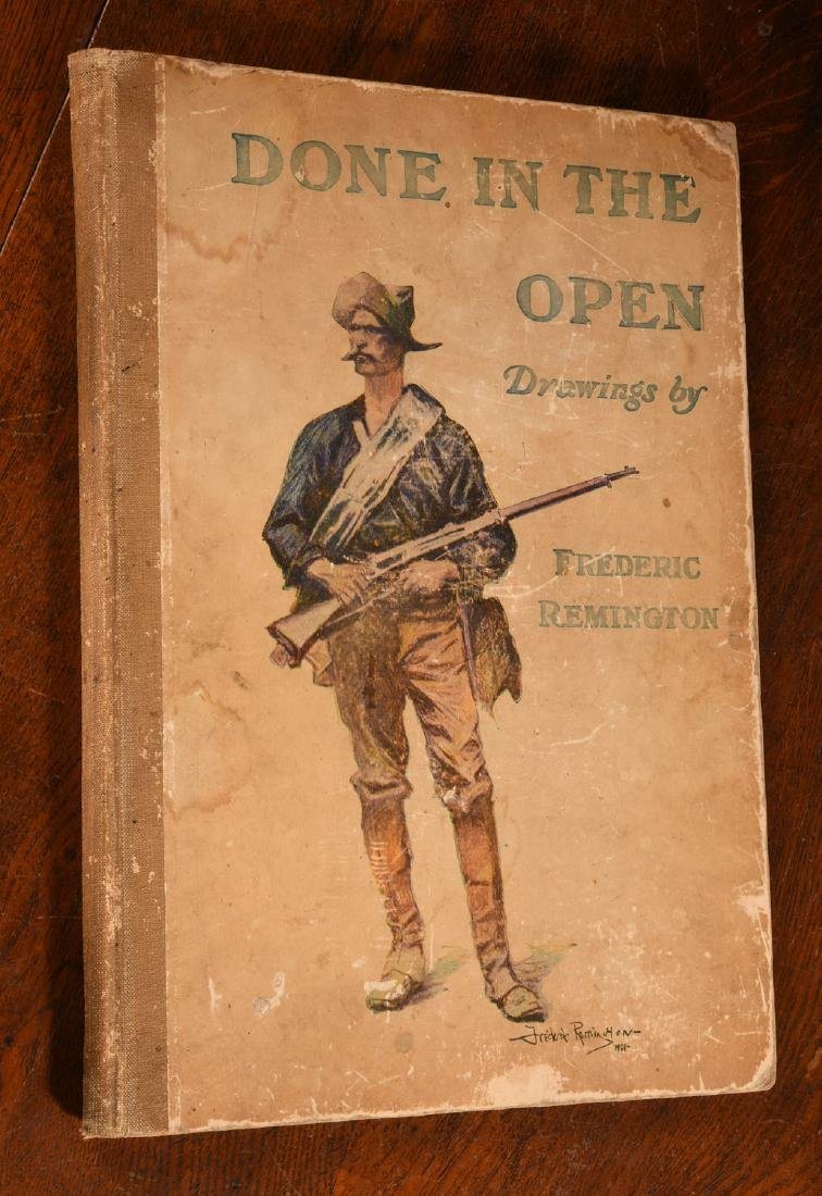 BOOKS: Frederic Remington 1904 Done in the Open
