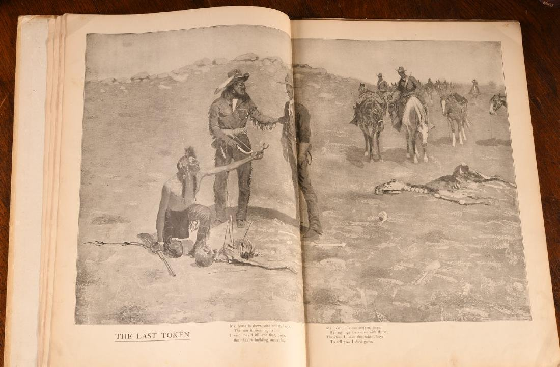 BOOKS: Frederic Remington 1904 Done in the Open - 3