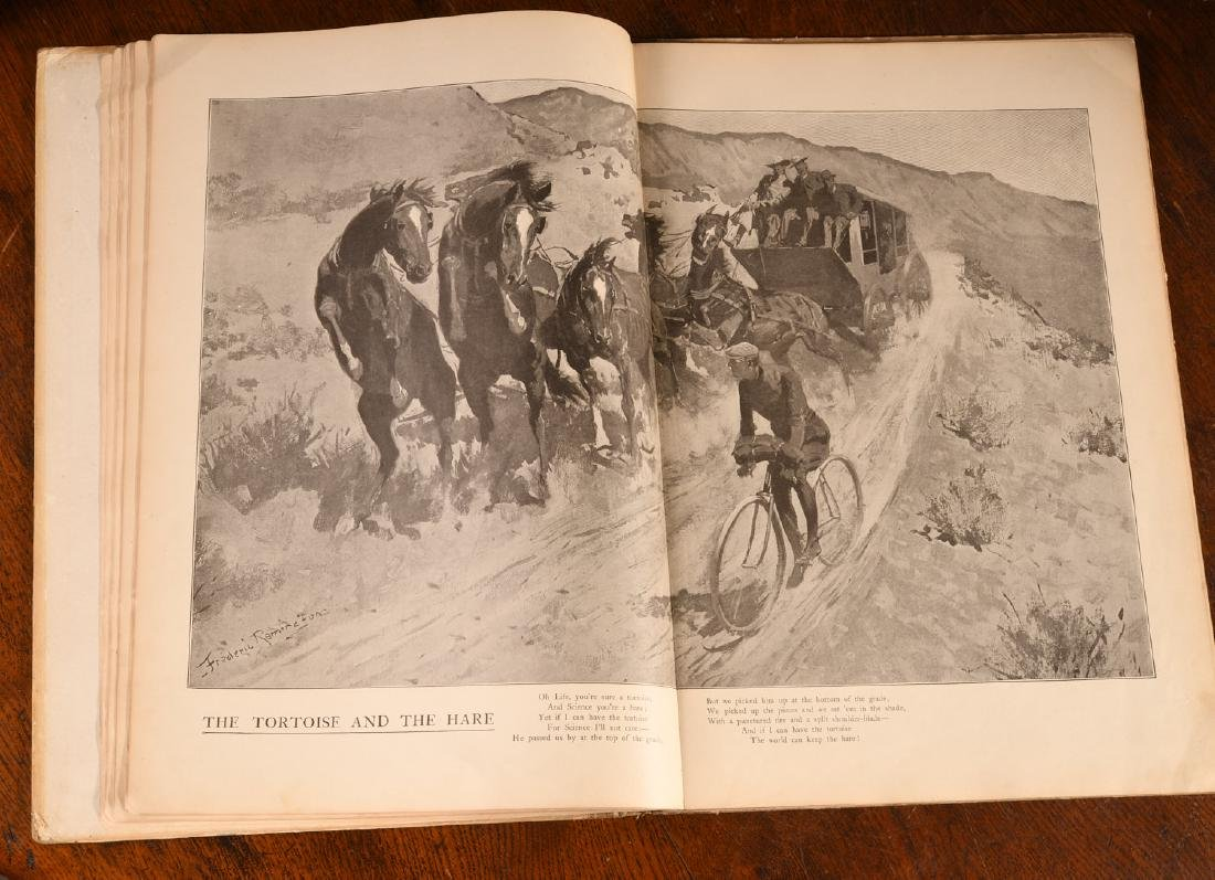 BOOKS: Frederic Remington 1904 Done in the Open - 4
