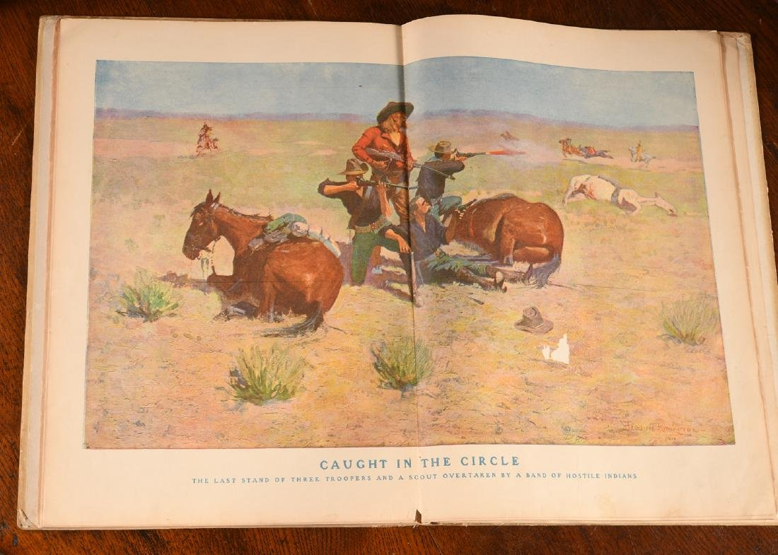 BOOKS: Frederic Remington 1904 Done in the Open - 5