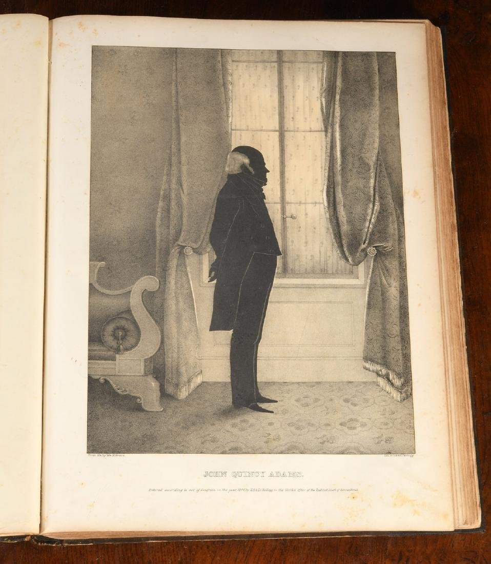 BOOKS: 1845 Brown's Portrait Gallery of American.. - 7