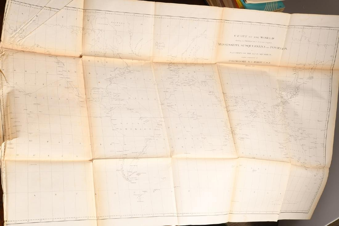 BOOKS: (3) Vols Perry 1856 Exp. China Seas & Japan - 10