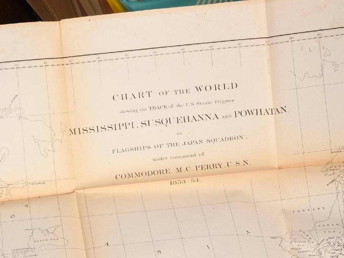 BOOKS: (3) Vols Perry 1856 Exp. China Seas & Japan - 9