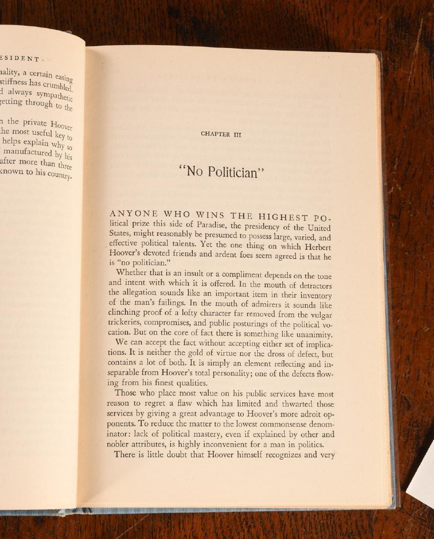 BOOKS: Signed & Inscribed Herbert Hoover 1948 - 4