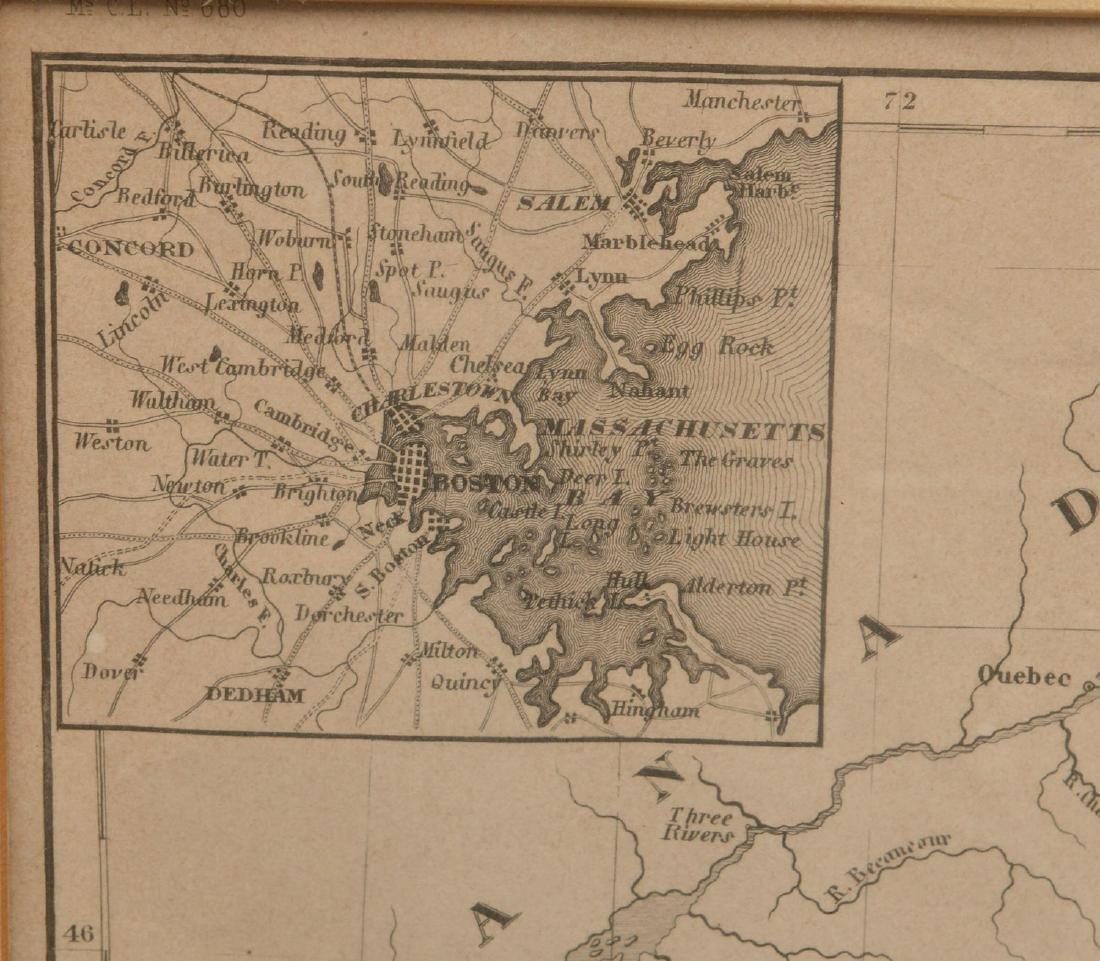 MAPS: (2) U.S. Regional 1846 Meyer's Atlas - 5