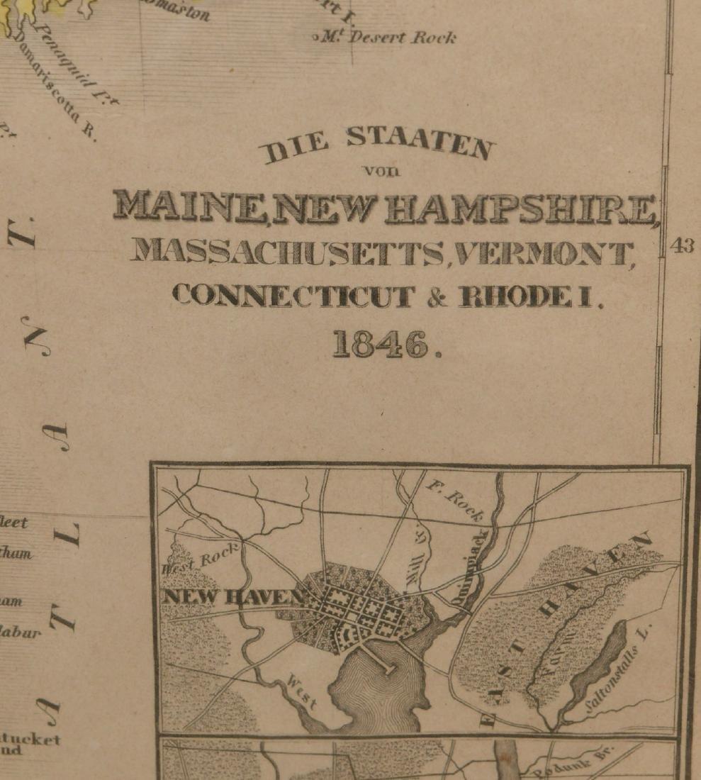MAPS: (2) U.S. Regional 1846 Meyer's Atlas - 6