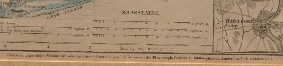 MAPS: (2) U.S. Regional 1846 Meyer's Atlas - 7
