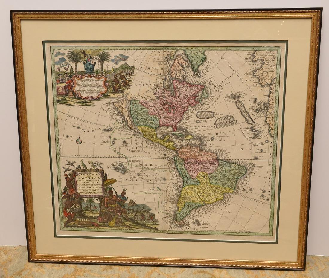 MAPS: Seutter 1730 Novus Orbis sive America