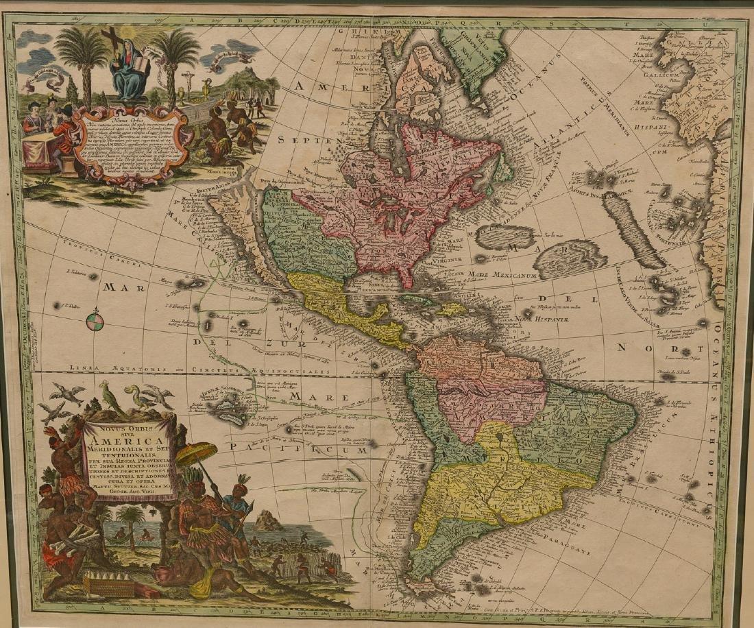 MAPS: Seutter 1730 Novus Orbis sive America - 2