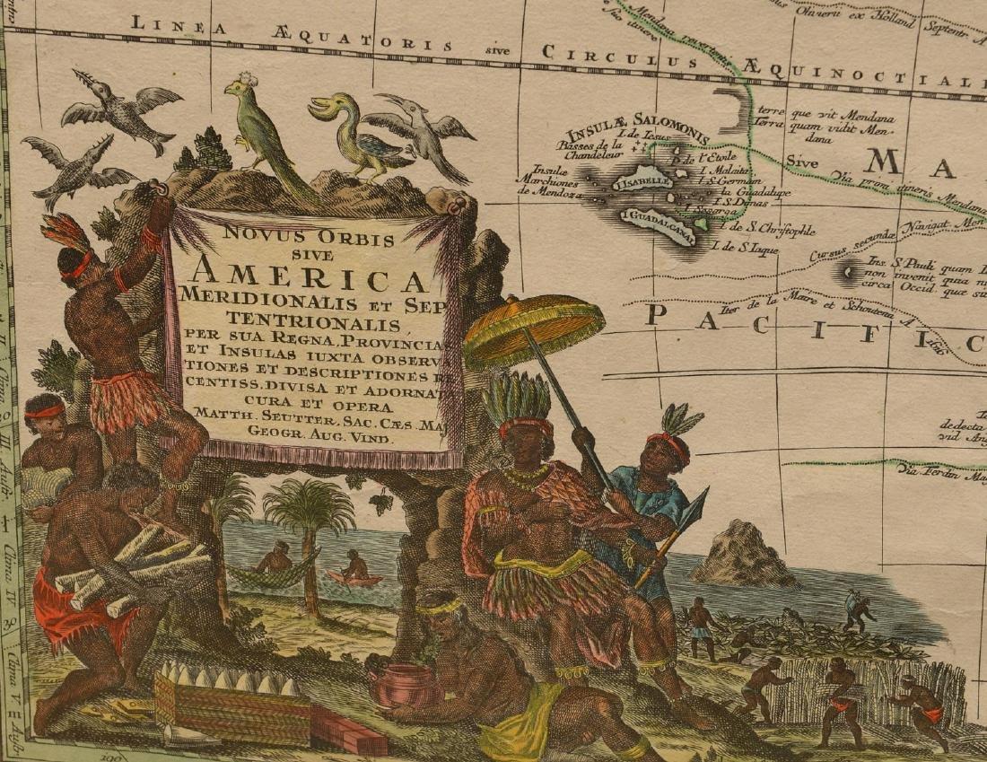 MAPS: Seutter 1730 Novus Orbis sive America - 5